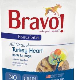 Bravo! Bravo! Dog Treat Freeze Dried Turkey Hearts 2 oz
