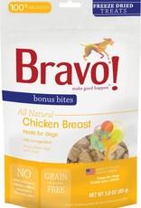Bravo! Bravo! Dog Treat Freeze Dried Chicken Breast 3 oz
