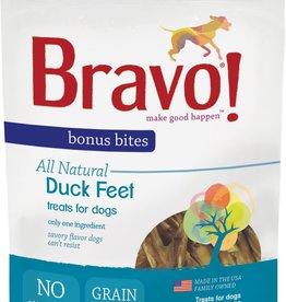 Bravo! Bravo! Dog Treat Dry Roasted Duck Feet 5 oz