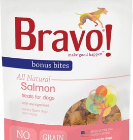 Bravo! Bravo! Dog Treat Bonus Bites Freeze Dried Salmon 2 oz
