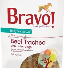 Bravo! Bravo! Dog Treat Beef Trachea 8""