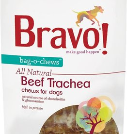 Bravo! Bravo! Dog Treat Beef Trachea 3.5""