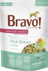 Bravo! Bravo! Dog Food Homestyle Complete Freeze Dried Pork