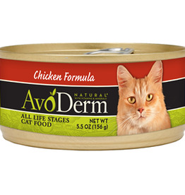 AvoDerm by Breeder's Choice AvoDerm Cat Can Chicken 5.5 oz