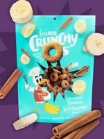 Fromm Family Foods, LLC Fromm Dog Biscuit Crunchy O's Banana Kablammas 6 oz
