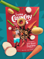 Fromm Family Foods, LLC Fromm Dog Biscuit Crunchy O's Pot Roast Punchers 6 oz