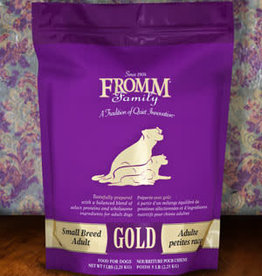 Fromm Family Foods, LLC Fromm Dog Dry Gold Small Breed Adult 15 lbs