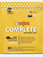 Sojo's Sojo's Dog Dehydrated Raw Complete Beef