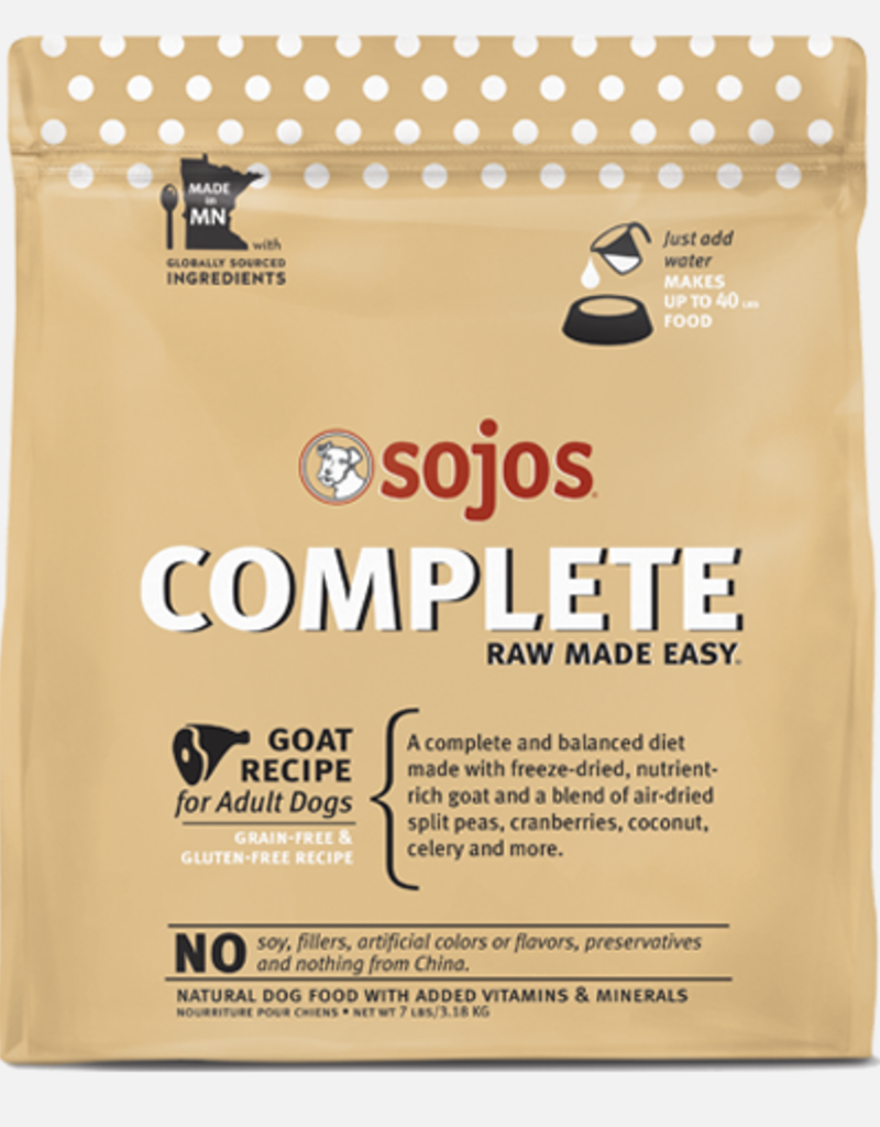 Sojo's Sojo's Dog Dehydrated Raw Complete Goat
