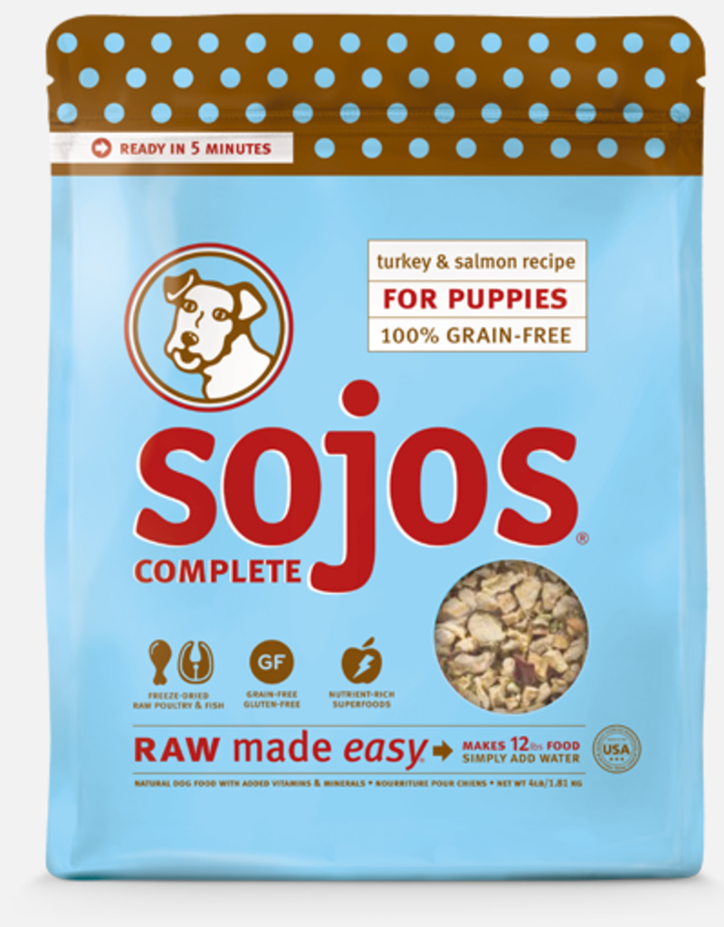 Sojo's Sojo's Dog Dehydrated Raw Complete Puppy Turkey and Salmon