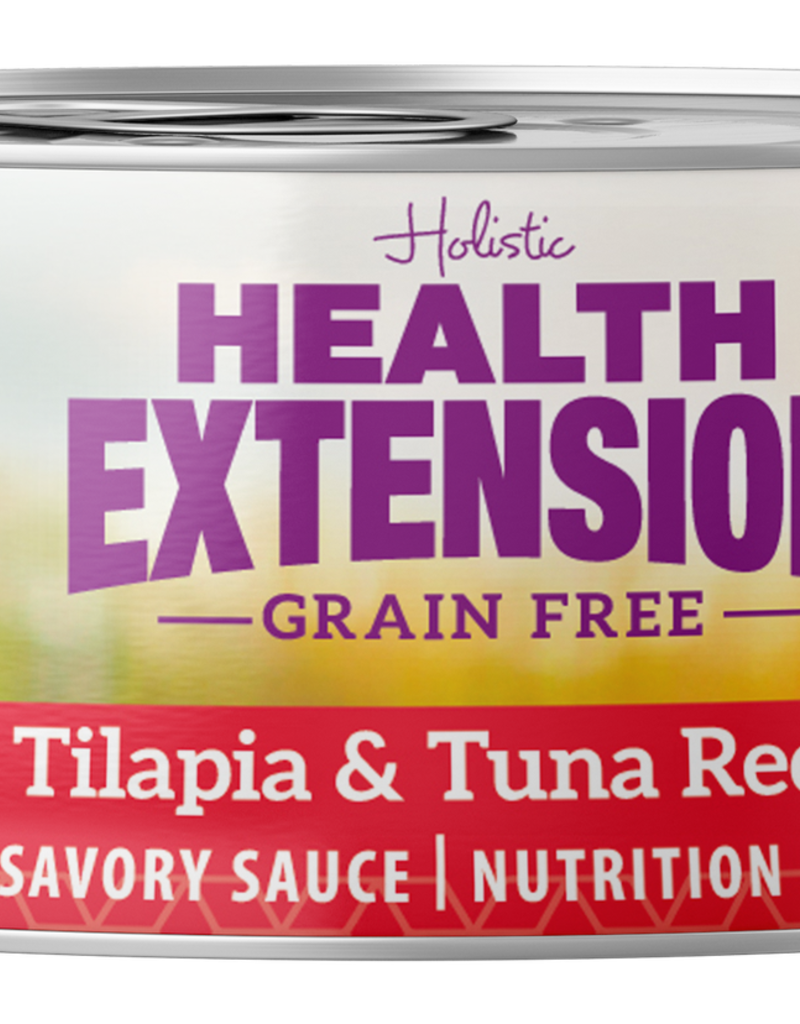 Health Extension Health Extension Cat Can Tilapia and Tuna 2.8 oz