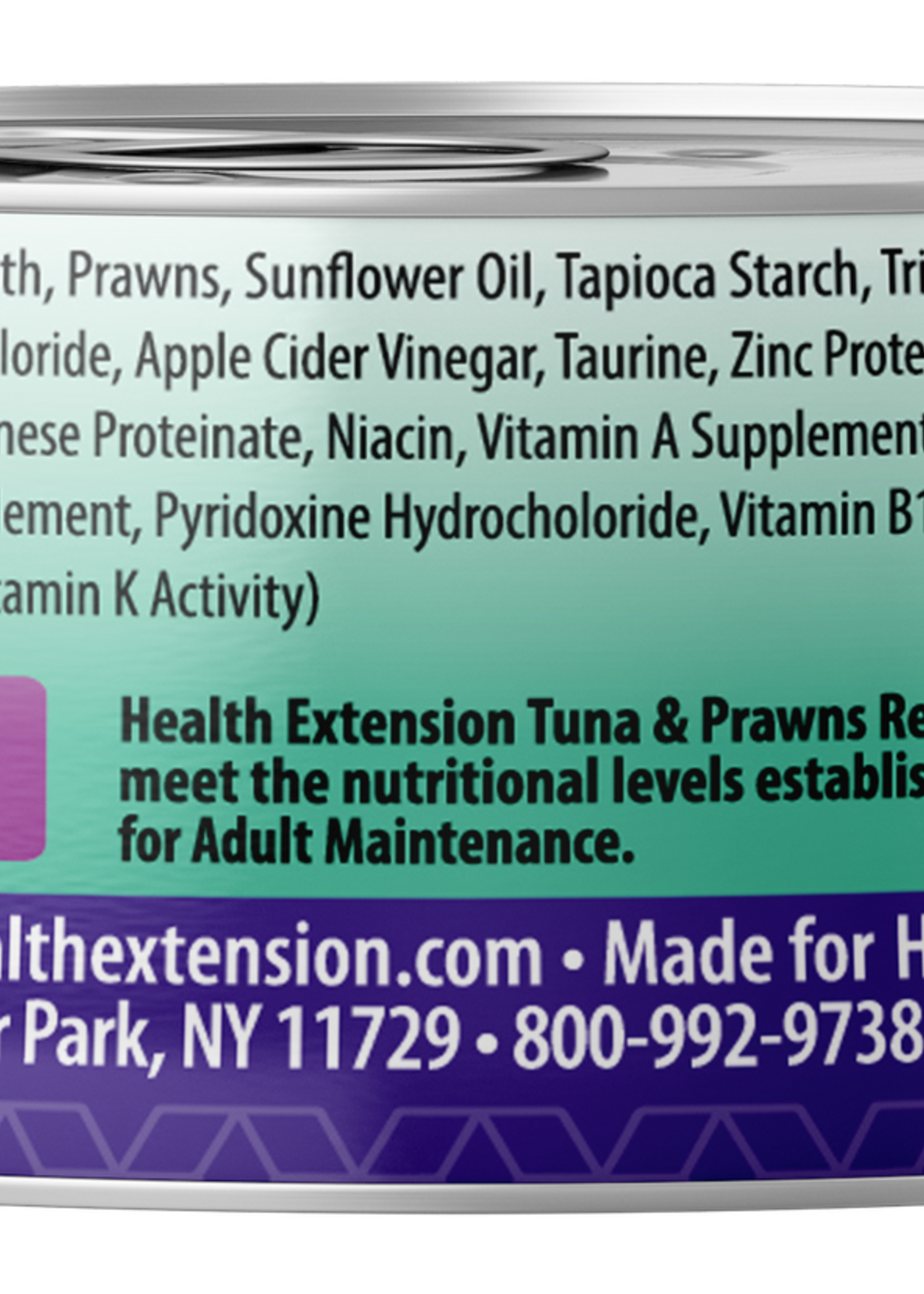 Health Extension Health Extension Cat Can Tuna and Prawn 2.8 oz