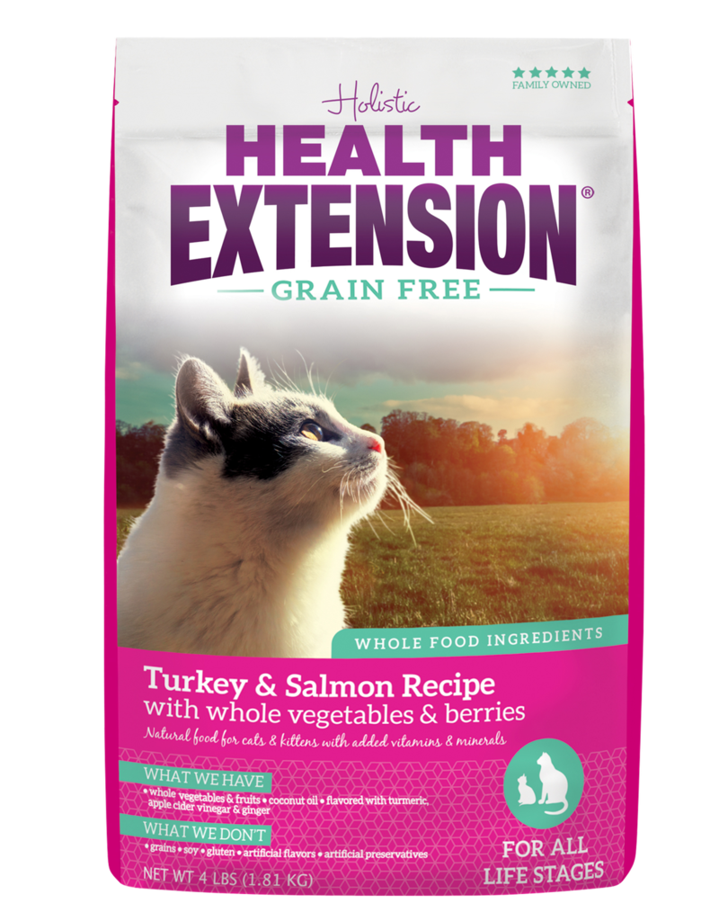 Health Extension Health Extension Cat Dry Turkey and Salmon