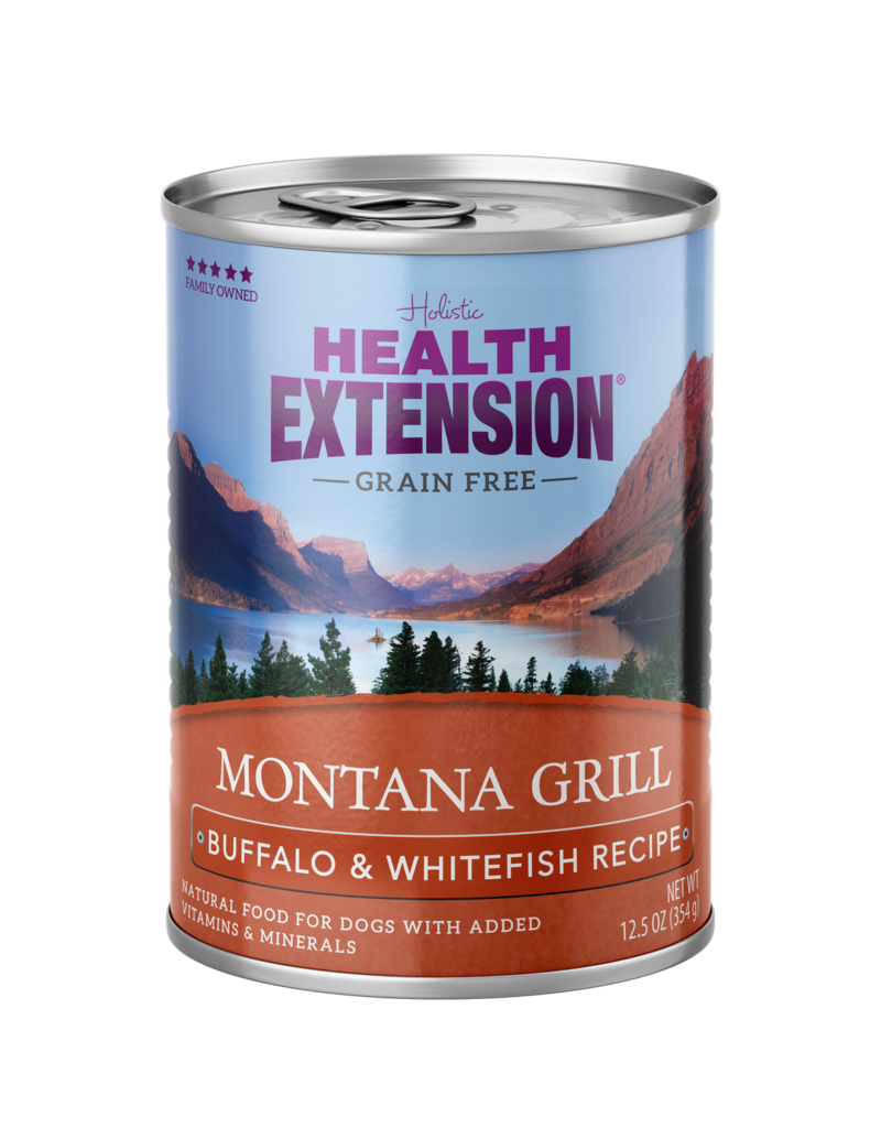 Health Extension Health Extension Dog Can Grilled Montana Buffalo 12.5 oz