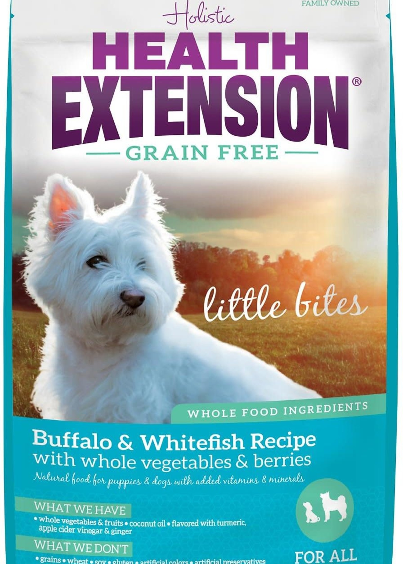 Health Extension Health Extension Dog Dry Little Bites Buffalo and Whitefish
