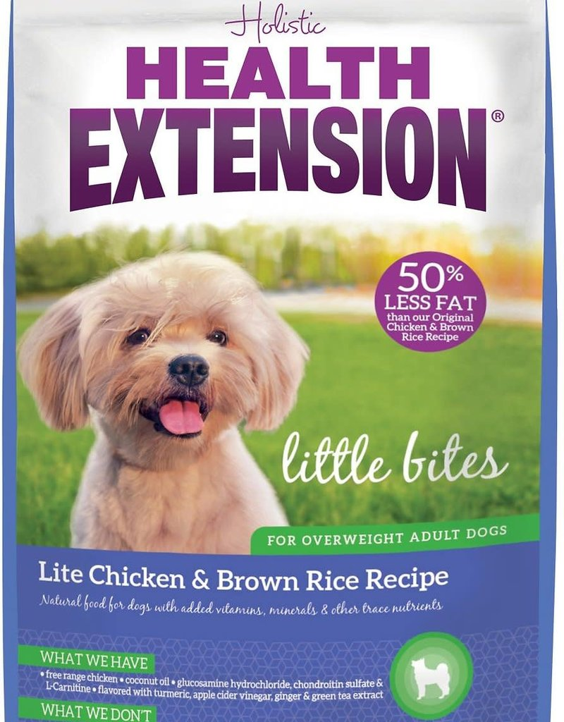 Health Extension Health Extension Dog Dry Little Bites Chicken and Brown Rice