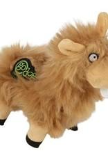 GO DOG GoDog Buck Tooth Llama w/Chew Guard Tech Durable Plush Dog Toy, Tan, Small WORLDWISE, INC.