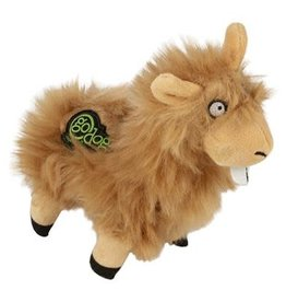 GO DOG GoDog Buck Tooth Llama w/Chew Guard Tech Durable Plush Dog Toy, Tan, Small WORLDWISE, INC.