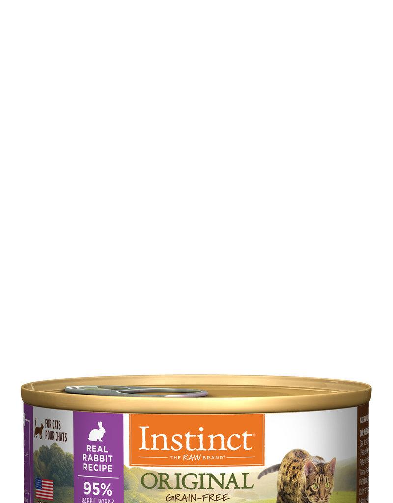 Nature's Variety Instinct Cat Can Original Rabbit 5.5 oz