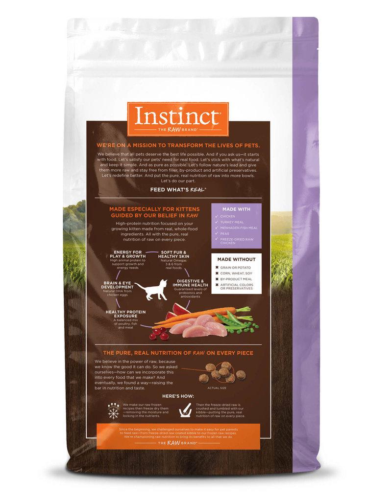 Nature's Variety Instinct Cat Dry Original Chicken for Kittens 4.4 lbs
