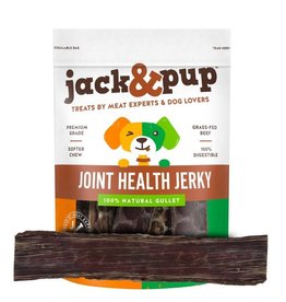 Jack and Pup Jack and Pup Dog Chew Joint Health Gullet Jerky 12""