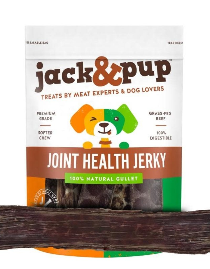 """Jack and Pup Jack and Pup Dog Chew Joint Health Gullet Jerky 12"""""""