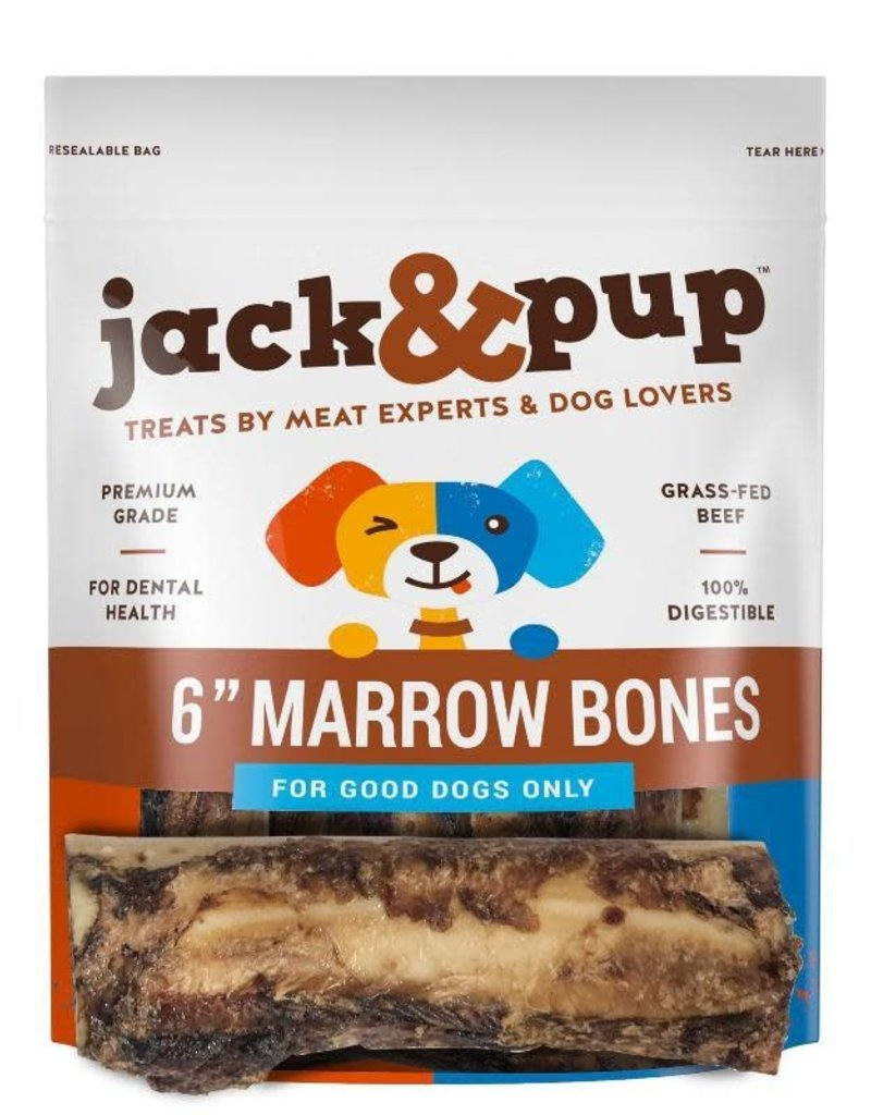 """Jack and Pup Jack and Pup Dog Chew Marrow Bone 6"""""""