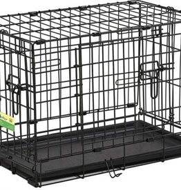 """MidWest Homes for Pets Midwest 42"""" ConTour Double Door Crate 42x28x30"""
