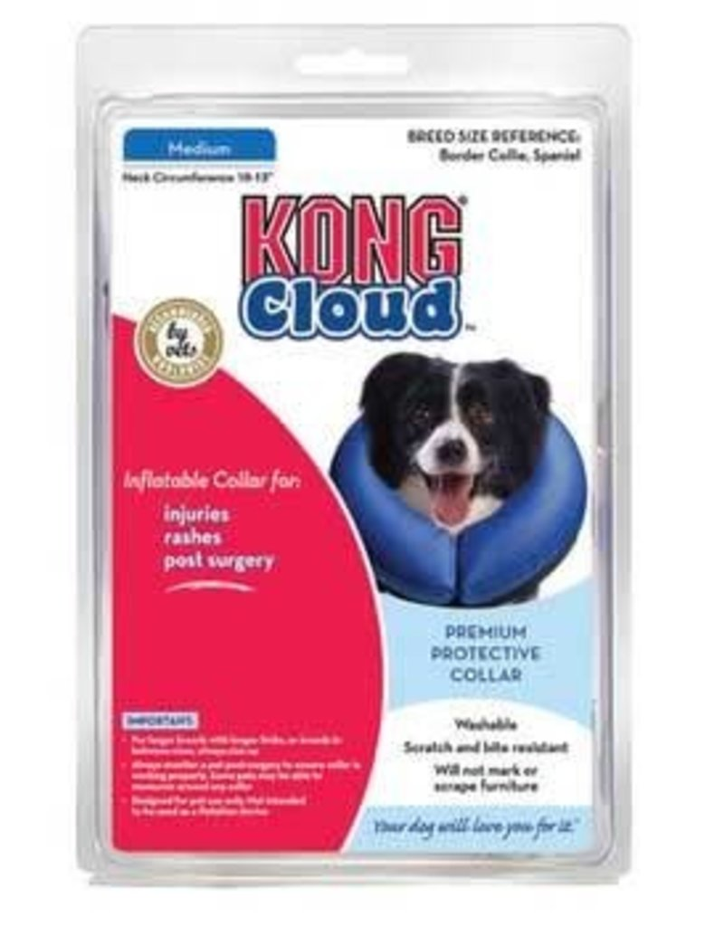 """The Kong Company Kong Cloud Collar Medium, 10-13"""""""