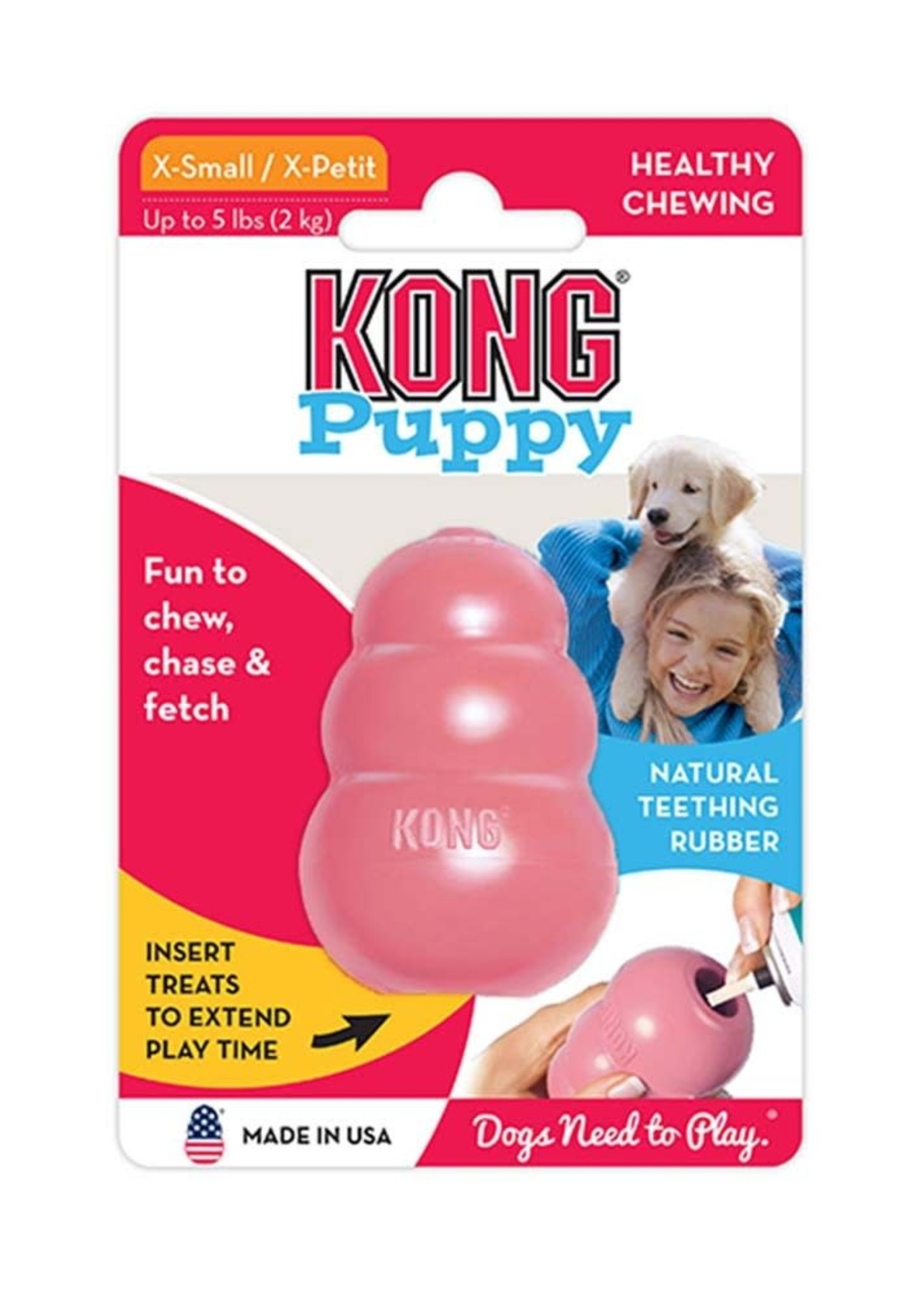 The Kong Company Kong Classic Puppy X-Small
