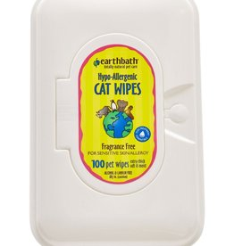 EARTHBATH/EARTHWHILE ENDEAVORS Earthbath Cat Wipes 100ct