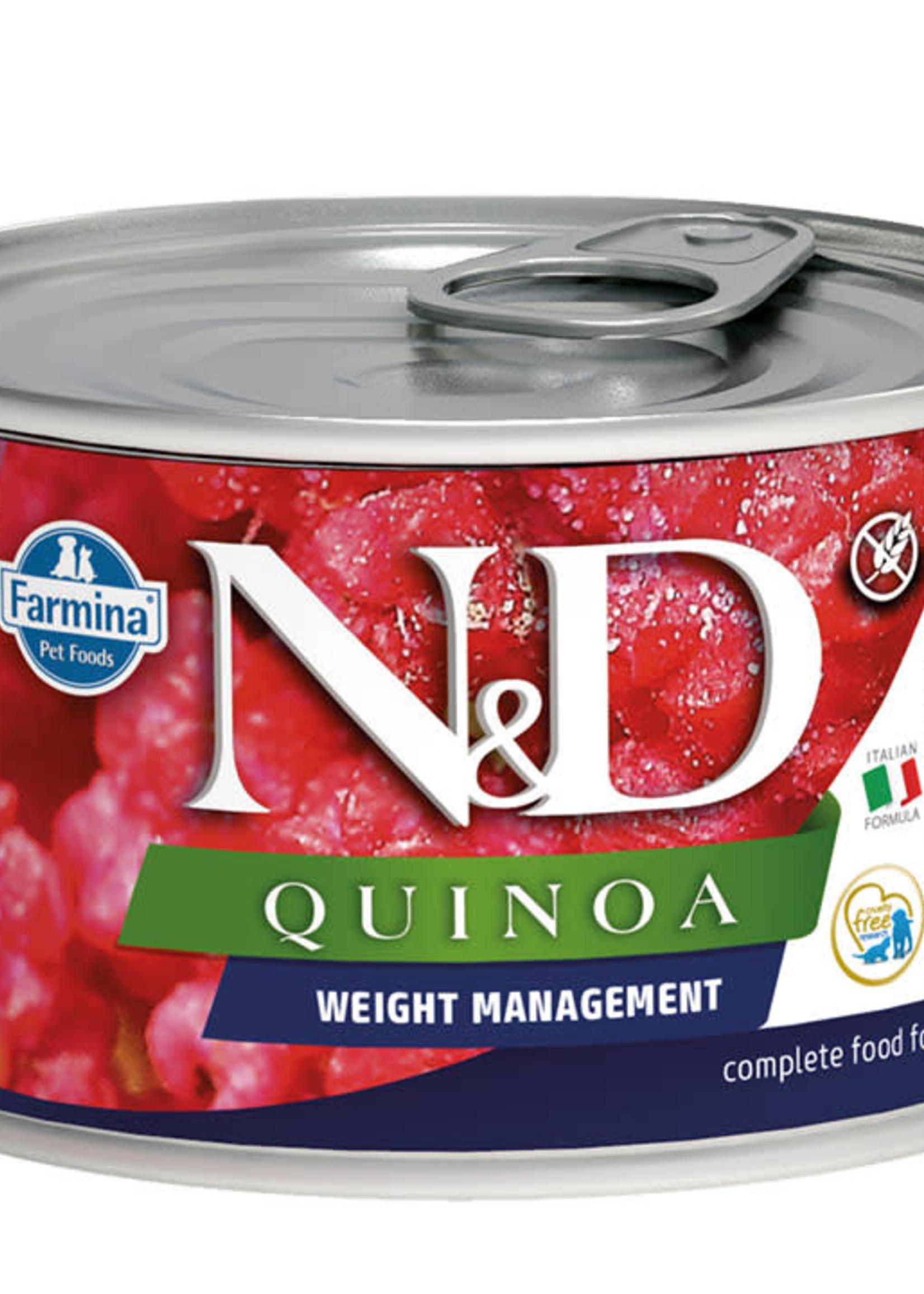 Farmina Farmina Dog Can Quinoa Weight Managment Lamb 4.9OZ