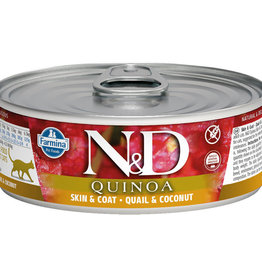 Farmina Farmina Cat Quinoa Skin & Coat Quail & Coconut 2.8OZ
