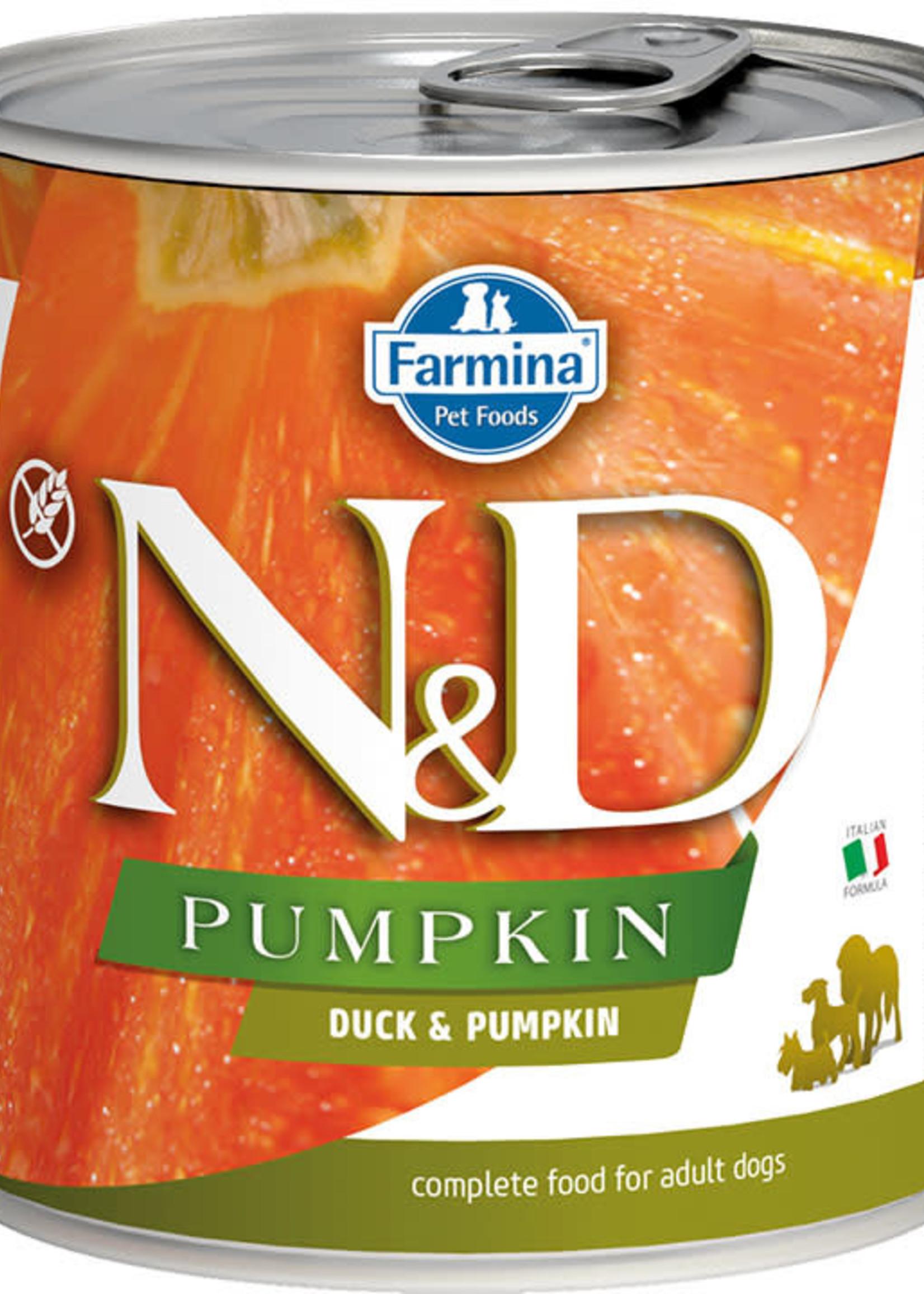 Farmina Farmina Dog Can Grain Free Pumpkin, Duck 10oz
