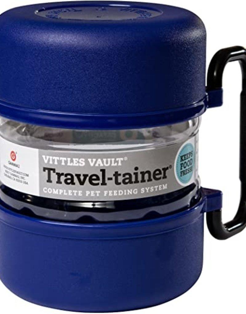 GAMMA 2, INC Vittles Vault Travel-tainer Complete Pet Feeding