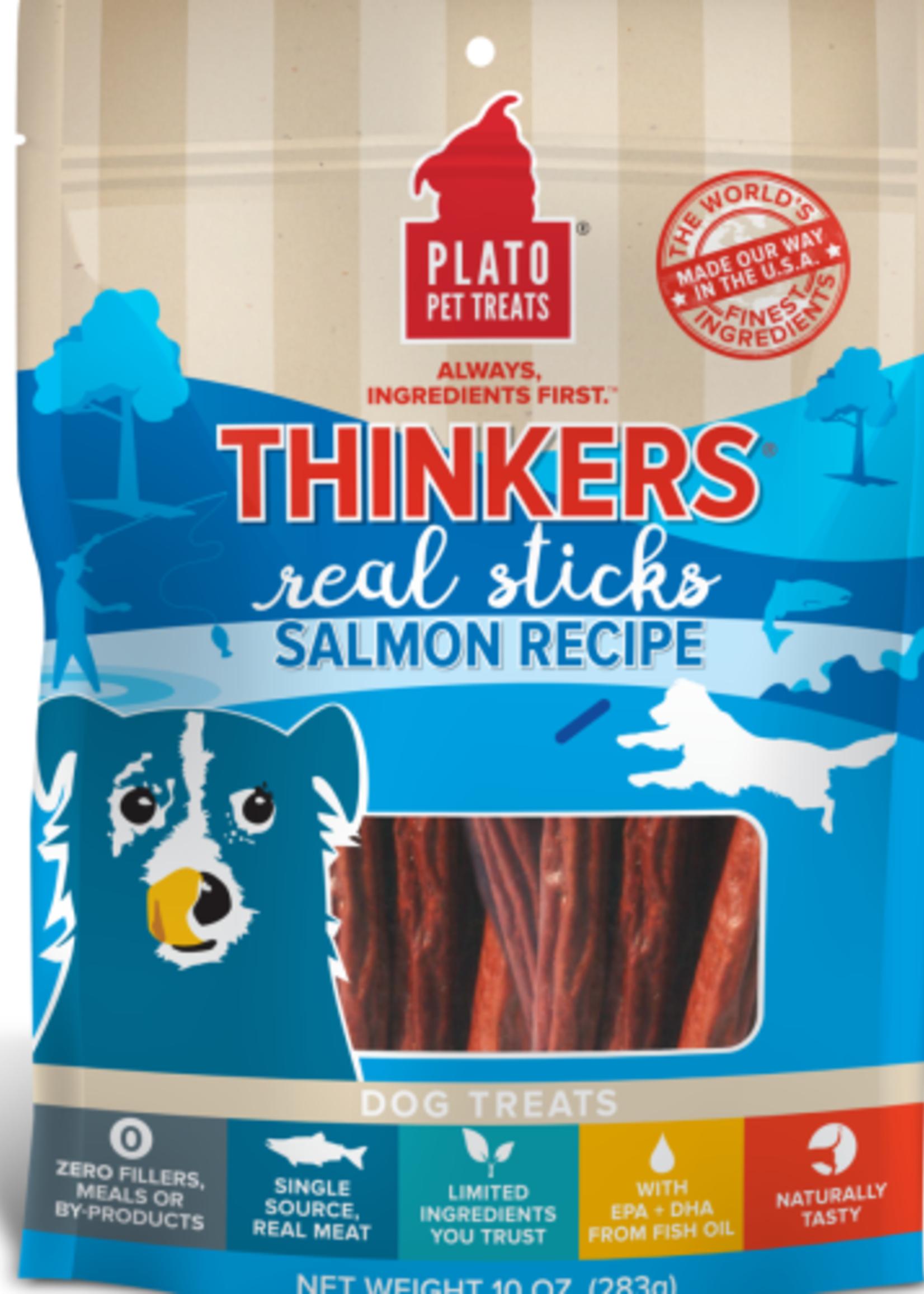 Plato Pet Treats - KDR Plato Mini Thinkers Salmon 6oz