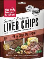 Honest Kitchen Honest Kitchen Dog Gourmet BBQ Beef Liver Chips 4oz