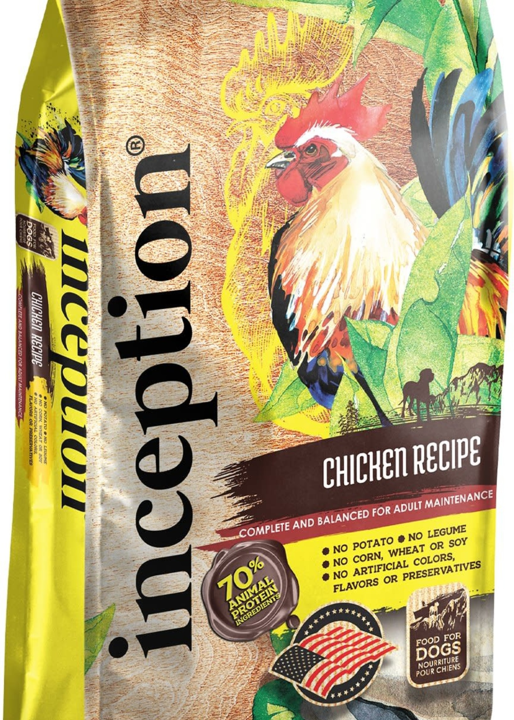Inception Inception Chicken Recipe Dog Food 13.5#