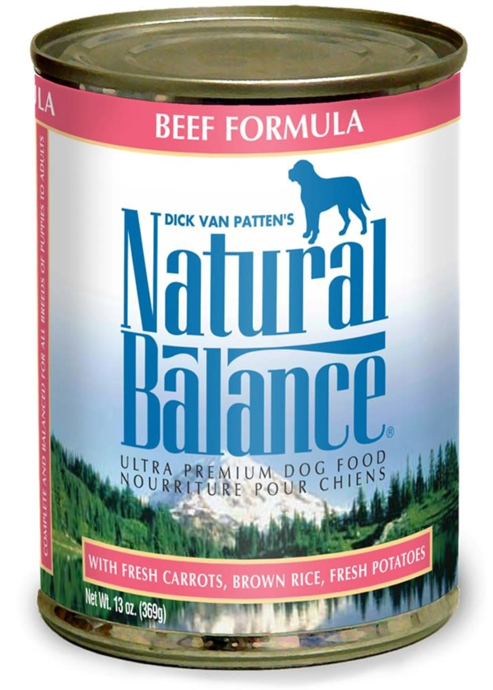 Natural Balance Pet Foods, Inc. Natural Balance Beef Formula K9 13.2oz