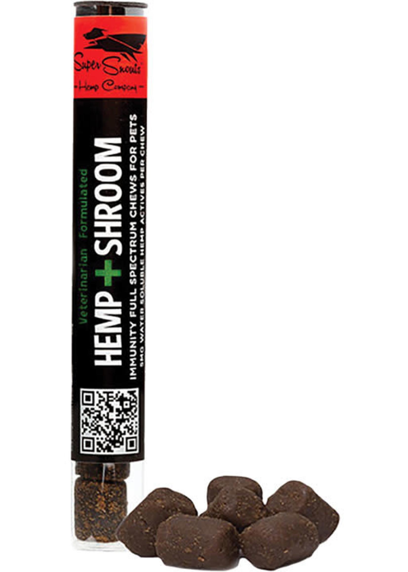 Super Snouts Super Snouts Dog CBD Hemp + Shroom Chews 6ct