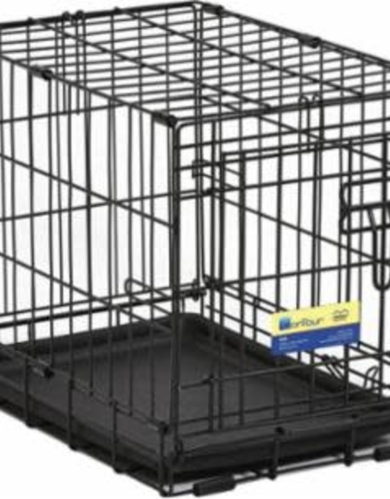 """MidWest Homes for Pets Midwest 30"""" ConTour Single Door Crate 30x19x21"""