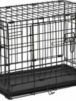 """MidWest Homes for Pets Midwest Small 24"""" ConTour Double Door Crate"""