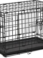 """MID-WEST METAL PRODUCTS CO INC Midwest 22"""" ConTour Double Door Crate X-Small"""