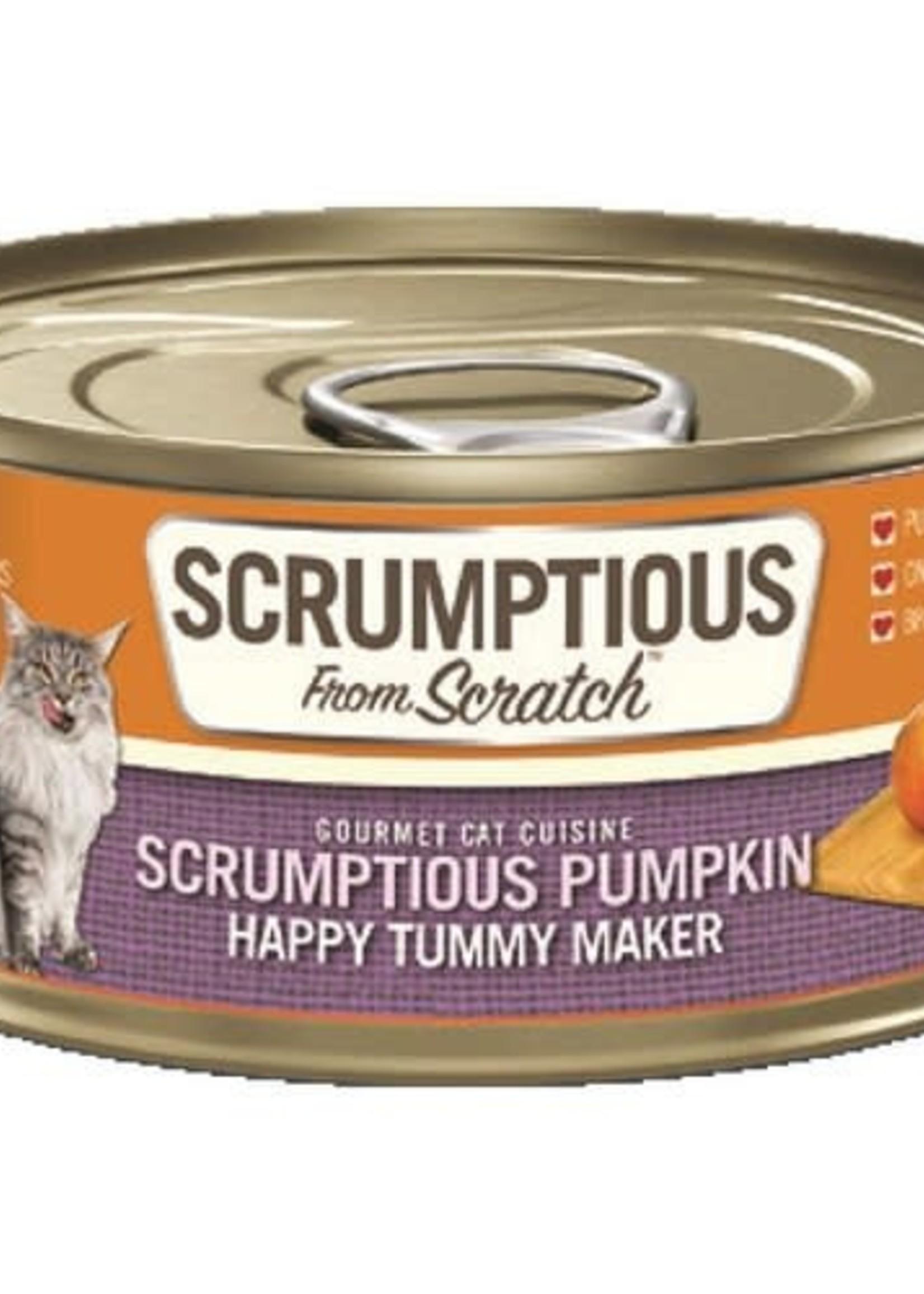 Scrumptious Scrumptious Cat Pumpkin Puree 2.8oz