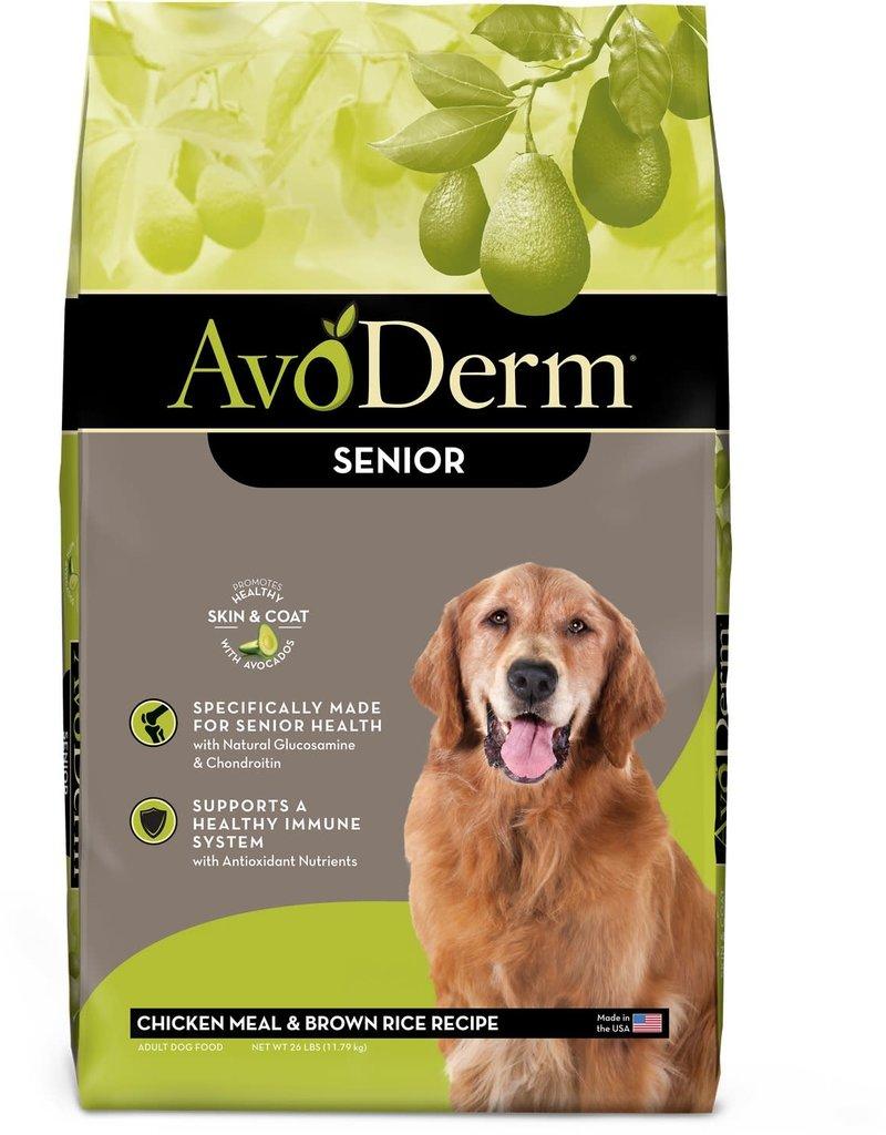 AvoDerm by Breeder's Choice AvoDerm Dog Dry Chicken and Rice Senior 26 lbs