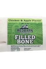 Redbarn Pet Products Redbarn Small Filled Bone Natural Chicken & Apple