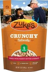 Zuke's Pet Treats Zuke's Dog Treat Crunchy Naturals Baked With Peanut Butter & Berry 12oz
