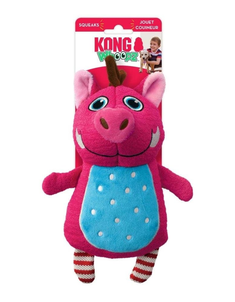 KONG COMPANY LLC KONG Whoopz Dog Toy Warthog Medium