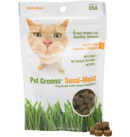 BELLROCK GROWERS INC Pet Greens Semi-Moist Chicken 3oz