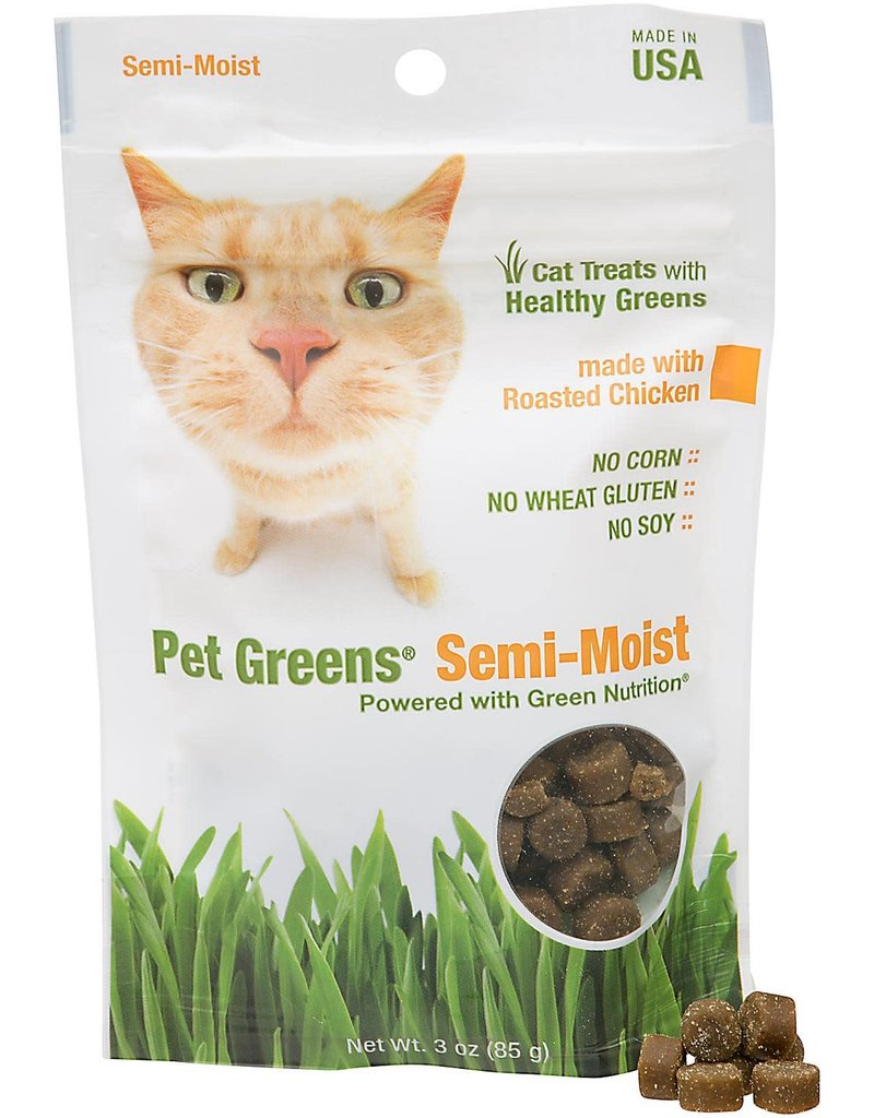 BELLROCK GROWERS INC Pet Greens Semi-Moist Chicken 3oz